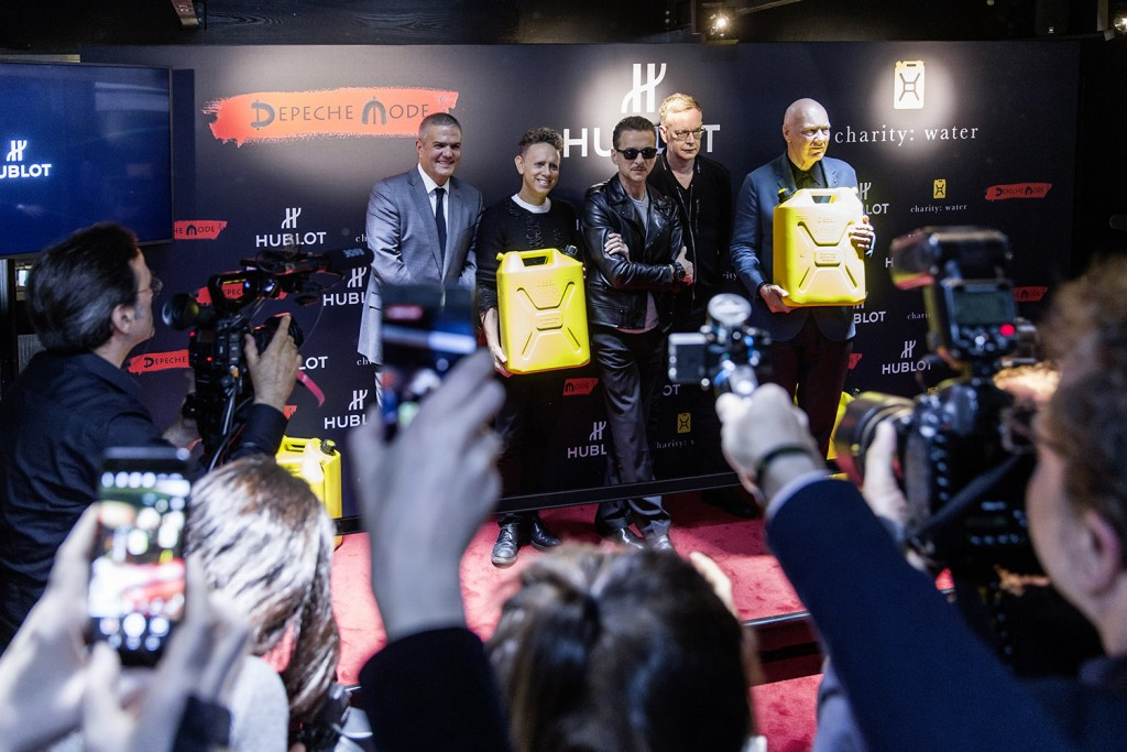 Press Conference HUBLOT with Depêche Mode